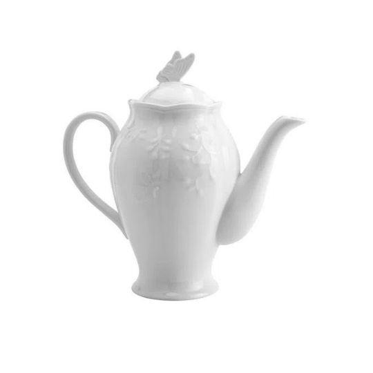 Bule em porcelana Butterfly Catherine Fine Teas