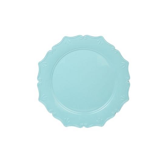 Sousplat para chá Candy Colors azul