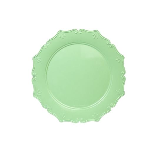 Sousplat para chá Candy Colors verde