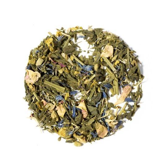 Chá verde com frutas Warm Soul