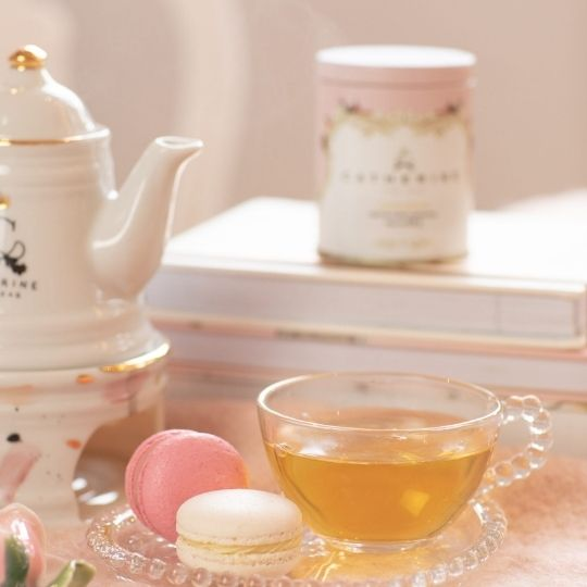 kit dessert tea composição