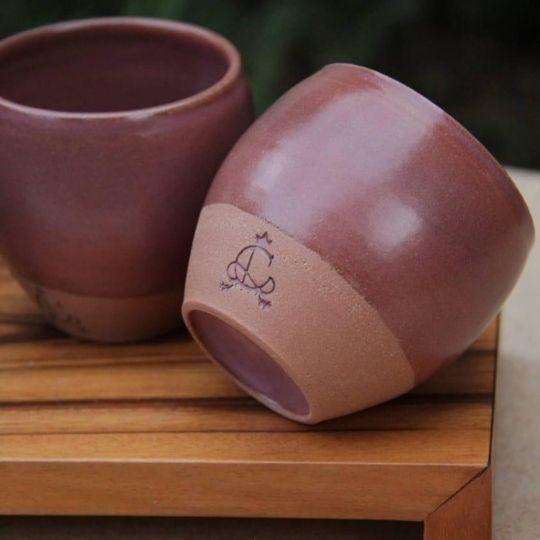 Copo cerâmica para chá Hanghzou