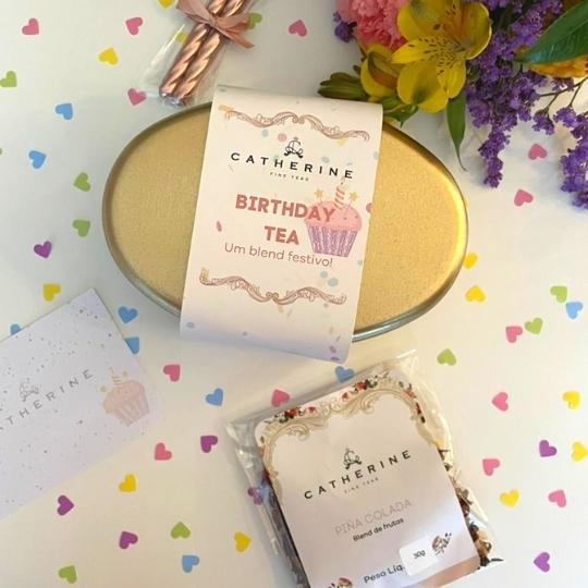 Chá para aniversário Catherine Fine Teas