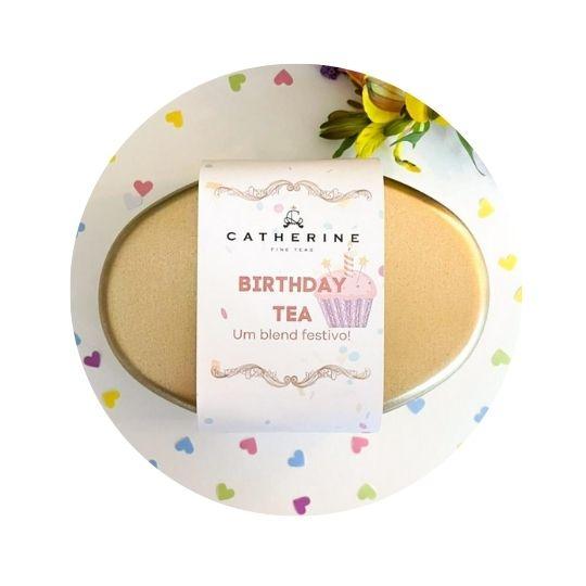 Chá de aniversário birthday tea
