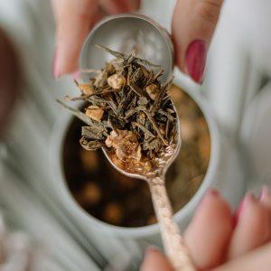 blend de chá artesanal