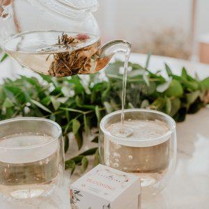 O que é blooming tea?