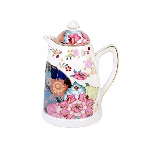 garrafa térmica de porcelana Maria Antonieta Catherine Fine Teas