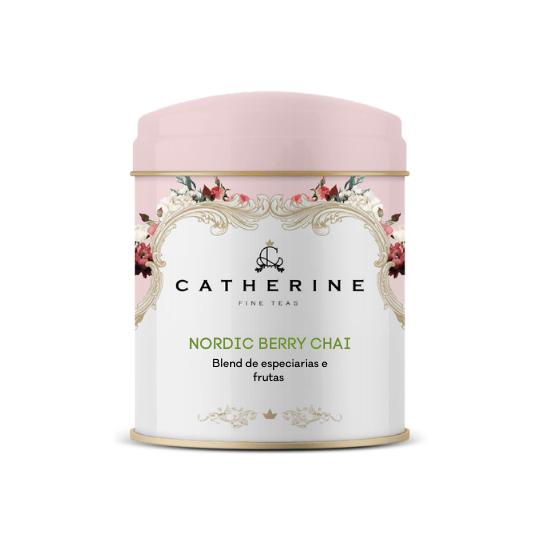 Nordic Berry Chai blend de especiarias e frutas lata
