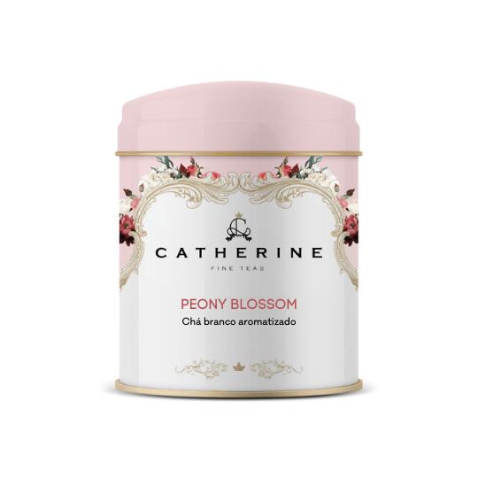 Peony Blossom chá branco aromatizado lata